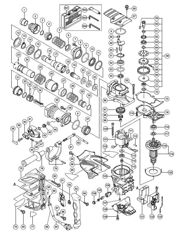 DH45MR Перфоратор Hitachi