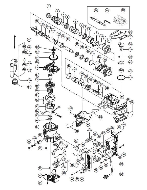 H60MRV Отбойный молоток